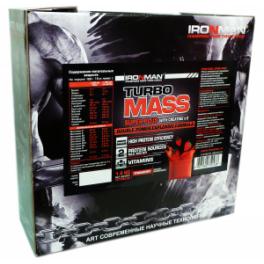 IronMan Turbo Mass gainer + creatine 1,4 кг